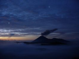 Sunrise at Bromo Mountain by Wilwatikta