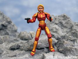 3D printed Space heroine old and new by hauke3000