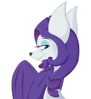 Rarity bat by GabrieldlTC