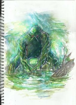 swamp thing by richard chin by richard-chin