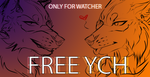 FREE YCH (3) - SEPTEMBER by x-aki