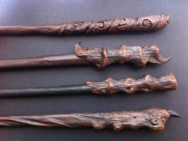 Wand handles by LiselleAngelique
