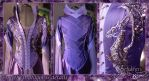 Costume 'Amethyst dragons' 2014. Details by Flower-in-dust