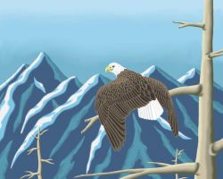 Bald Eagle by Crystal-Ice47