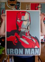 Iron Man Hope Poster by jahue