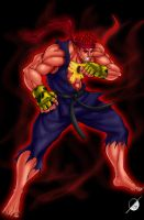 Evil ryu by Osmar-Shotgun