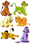 Lion Cub Adopts by BlackWolf1112-ADOPTS