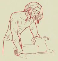AMWT: Alistair and a basin by tahara