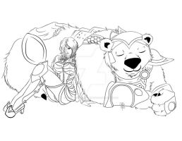 LoL: Volibear and Ashe Lines by Beautiful-Dreamer602
