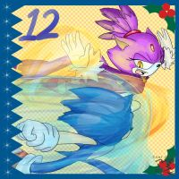 Sonic Advent Calendar: 12th by Feniiku