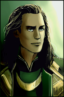 Loki Speed Portrait by MellorianJ