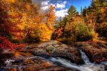 HDR Autumn Falls 2009 by Nebey