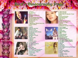 BoA Discography Sample by xSerenityLove