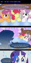 MLP: The Ugly Little Blank Flank by AniRichie-Art