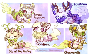 :Purrfumes Adoptables(2 left)- price lowerd by PrePAWSterous