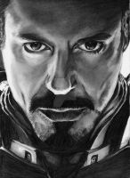 Iron Man-Robert Downey Jr. by bclara88