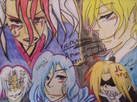 Vic Mignogna's Gift For Colossalcon 2014 by albertxlailaxx