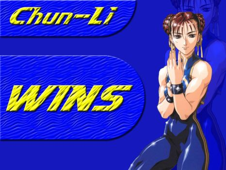 Chun Li Wallpaper by KnudoW