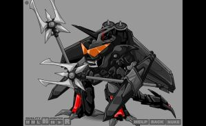 Mecha Lord V.1 by Thaeonblade