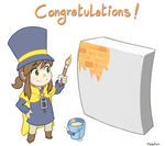 Hat in Time's texture artist! by Frario