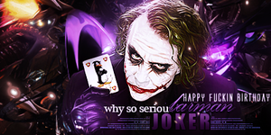 Joker Sig. [BIRTHDAY GIFT] by LifeAlpha