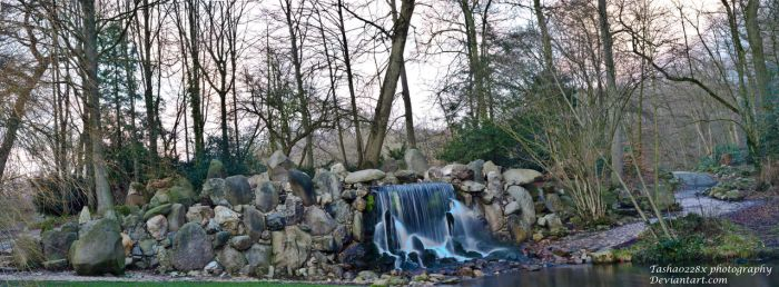 Pano Waterfall by Tasha0228x