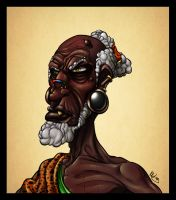 Old African Dude by KKylimos