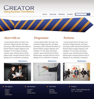Layout 'Creator' by oxanaart