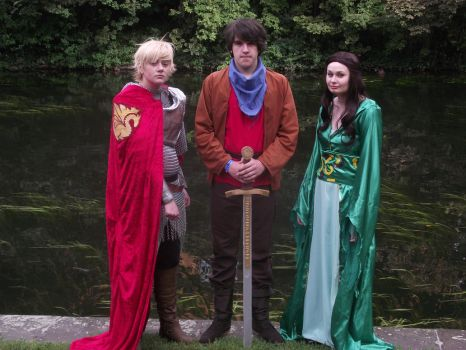 BBC Merlin - For The Love of Camelot by EAMS81
