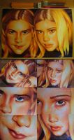WIP: I SEE YOUR FACE - OMG BALLPOINT PENS by missi-alicja