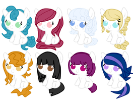 Fillie adoptables white [CLOSED] by HeartRoyali