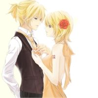 Kagamine Rin  Len by 801planet