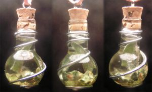 Magic Vial - Green Earth by Izile