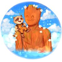 GOTG Request- Buddies by SnookieVonPink123