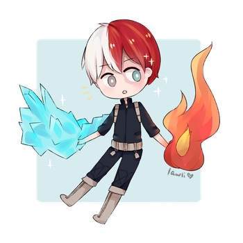 shouto! by Lawli-Art