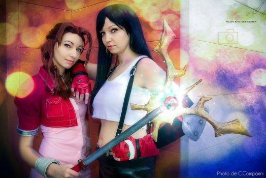 Magic and Strength by Gabrielle-Erina