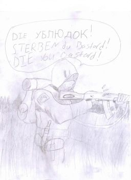 FIre Fight in the Grass by Nazo-the-Keidran