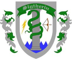 Slytherin Badge: Redesign by Silvre