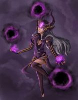Syndra- League of Legends by Hamzilla15