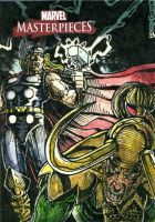 Thor and Loki MM3 Sketchcard by DKuang