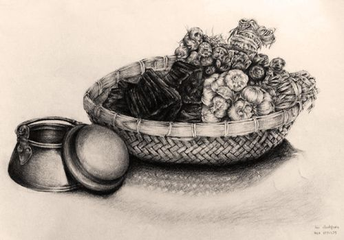 Still life drawing since 2003 #3 by Pearlpencil