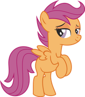 Scootaloo naked PNG not final by leopurofriki