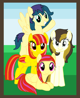 Asher's Sisters by Pony-Paradice