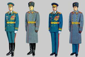 Soviet Army Uniforms 25 by Peterhoff3
