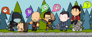 Scribblenauts' Valve by McGenio