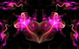 Valentine Heart flame by Dylananana
