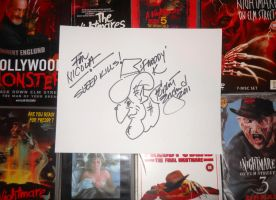Robert Englunds autograph by Wolfeyes899