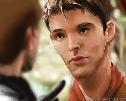 Fan-Art : Merlin and King arthur by Dan-zodiac