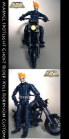 Custom Ghost Rider Figure by KyleRobinsonCustoms