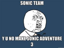 This is for you, Sonic Team by DrEarthwormRobotnik